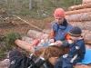 paus i skogsarbetet